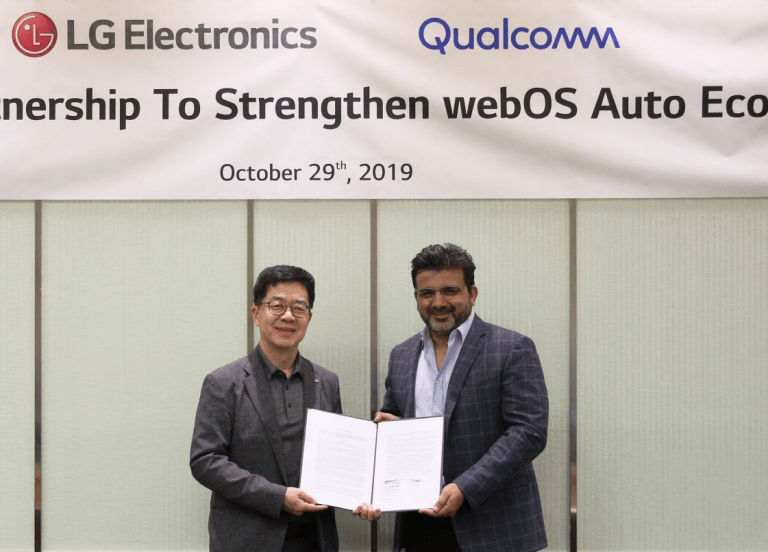 LG AND QUALCOMM JOIN FORCES TO ADVANCE THE IN-CAR EXPERIENCE