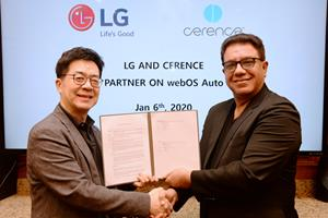 Cerence to Join Forces with LG on AI-Powered Connected Car Platform