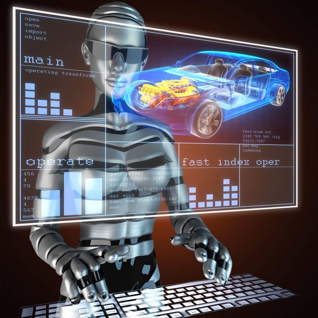 robot future smart car