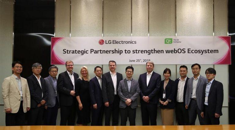 Qt and LG Electronics Partner to Offer webOS as the Most Comprehensive Platform for Automotive, Robotics & Smart Homes